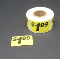 Picture for category Touch & Go Large Pre-Printed Pricing Labels