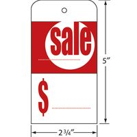 Picture of SALE TAGS with WIRES